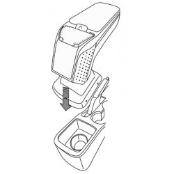 Apoyabrazos específico AR9 para Nissan Micra V (2017-)