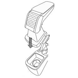 Apoyabrazos específico AR10 para Nissan Micra V (2017-)