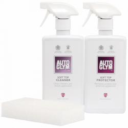 Kit capotas blandas limpieza y protección - AUTOGLYM 2x500ml