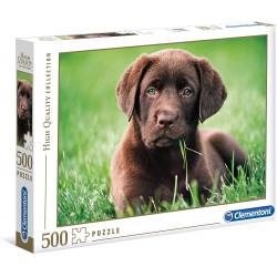 Puzzle Clementoni 500 piezas Chocolate Puppy