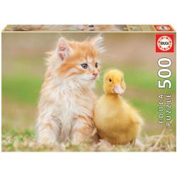 Puzzle Educa 500 piezas Amigos Adorables