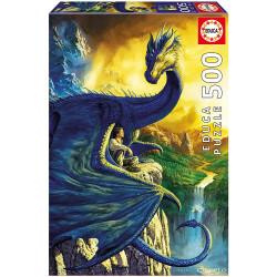 Puzzle Educa 500 piezas Eragon y Saphira