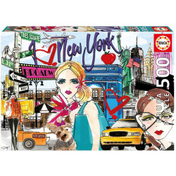 Puzzle Educa 500 piezas Llévame a New York