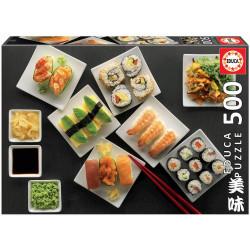 Puzzle Educa 500 piezas Sushi