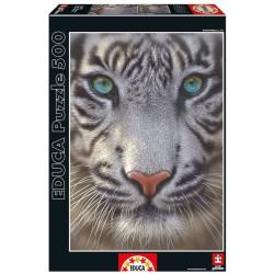 Puzzle Educa 500 piezas Tigre Blanco