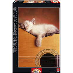 Puzzle Educa 500 piezas Mi Guitarra