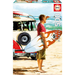 Puzzle Educa 500 piezas Surfista