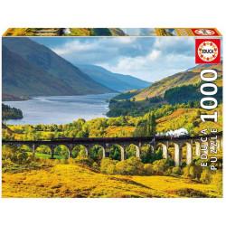 Puzzle Educa 1000 piezas Viaducto de Glenfinnan