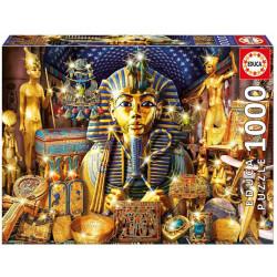 Puzzle Educa 1000 piezas Tesoros de Egipto