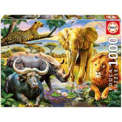 Puzzle Educa 1000 piezas Los Cinco Grandes