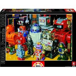 Puzzle Educa 1000 piezas Robots