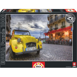 Puzzle Educa 1000 piezas Atardecer en París