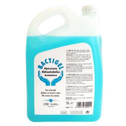 Gel hidroalcohólico para manos 5L