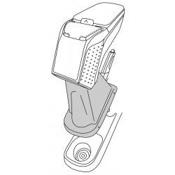 Apoyabrazos específico AR9 para Renault Captur (2013-2016)