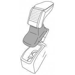 Apoyabrazos específico AR10 para Peugeot 208 I (2012-2019)