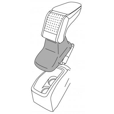 Apoyabrazos específico AR10 para Peugeot 208 (2012-)