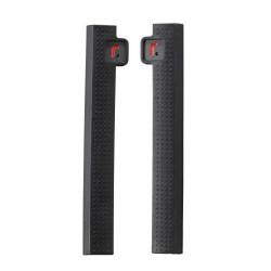 Protectores de puerta R-STICK en color NEGRO para coche de 2/3 puertas