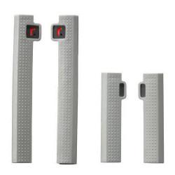 Protectores de puerta R-STICK en color GRIS para coche de 4/5 puertas